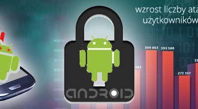 Liczba ataków na urządzenia z Android rośnie